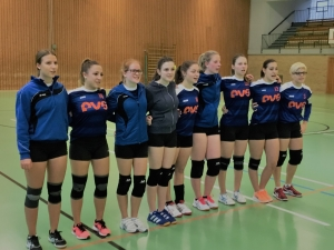 Faustball-Frauen Halle 17-18